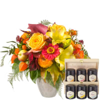 Late Summer Magic with honey gift set