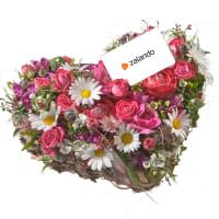 Herzblatt mit Zalando-Geschenkkarte CHF 25.-