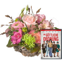 "Sweet Spring Basket with DVD ""The Divine Order"""