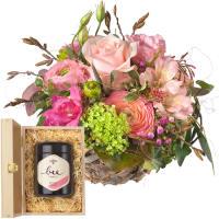 Süsses Frühlingskörbchen mit Schweizer Blütenhonig
