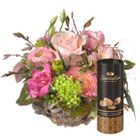 Sweet Spring Basket with Gottlieber cocoa almonds