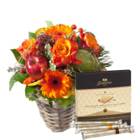 "Indian Summer Surprise with Gottlieber Hüppen ""Special Edition for Fleurop"""