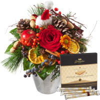 "Exquisite Winter Greeting with Gottlieber Hüppen ""Special Edition for Fleurop"""