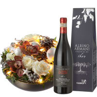 Great Moments (with fairy lights) and Amarone Albino Armani  DOCG (75cl)