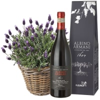 A Basket of Lavender with Amarone Albino Armani  DOCG (75cl)