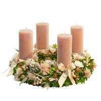 Charming Advent Wreath