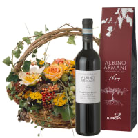 Indian Summer in a Basket with Ripasso Albino Armani DOC (75cl)
