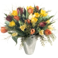 Colourful Bouquet of Tulips
