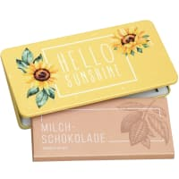"Milk chocolate from Munz in gift tin ""Hello Sunshine"""