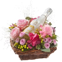 Flower Fairy with WHITE Secco Piccolo (20cl)