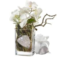 Une orchidée tout à fait design, y compris porte-clés avec 112 cristaux Swarovski®