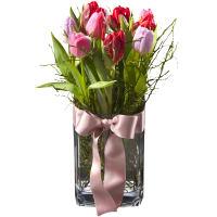 La princesse des tulipes (vase incl.)