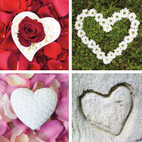 4 Herzen