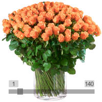 MyBouquet orange Rosen