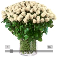 MyBouquet roses blanches