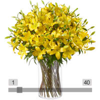MyBouquet Yellow Lilies