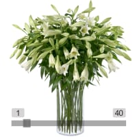 MyBouquet White Easter Lilies