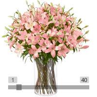 MyBouquet rosa Lilien <br> (Preis & Anzahl wählbar)
