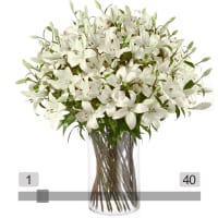 MyBouquet White Lilies