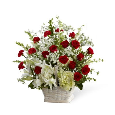 S17 4474 The Ftd In Loving Memory Arrangement Order