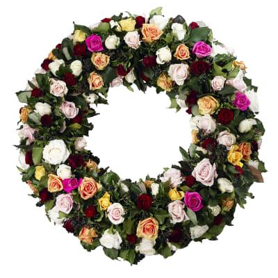funeral wreath commander ici livraison encore aujourd 39 hui. Black Bedroom Furniture Sets. Home Design Ideas