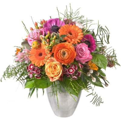 Art Der Blumen Blumenstrausse Der Saison Blumen Lieferung Noch Am