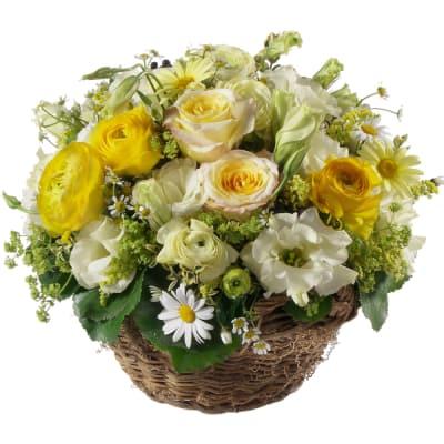 Charming spring basket