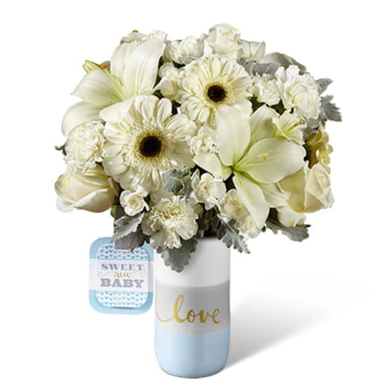HMB -  The FTD® Sweet Baby Boy™ Bouquet by Hallmark