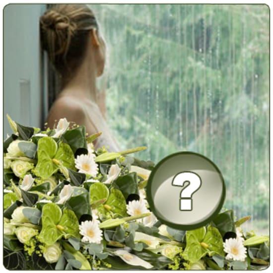 Bouquet Surprise Condoléances / Choix de couleurs
