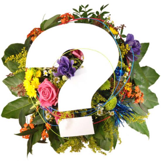 Bouquet Surprise Anniversaire / Choix de couleurs