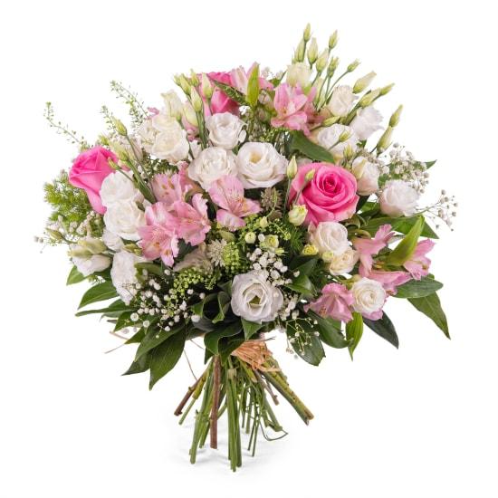 Mixed romantic bouquet