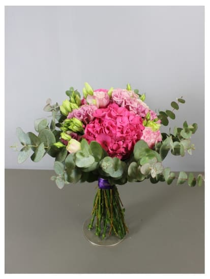 Hand Tied pink