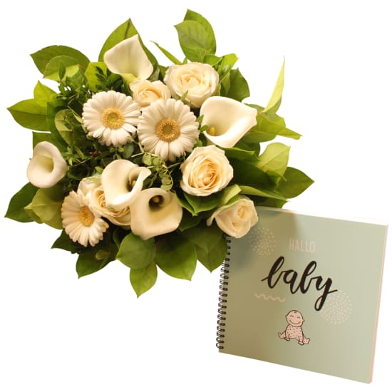 -Hello baby- bouquet