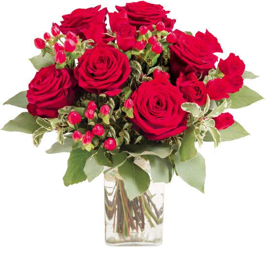 "Bouquet of red roses ""Evita"""