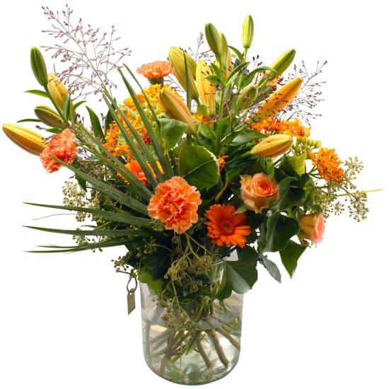 Natural bouquet incl. vase