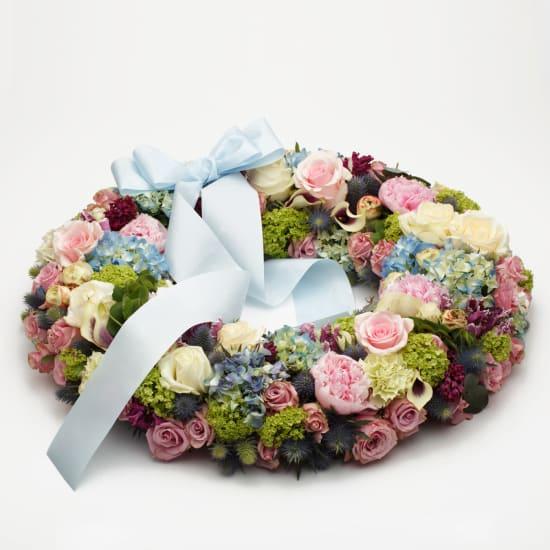 Delicate Funeral Wreath