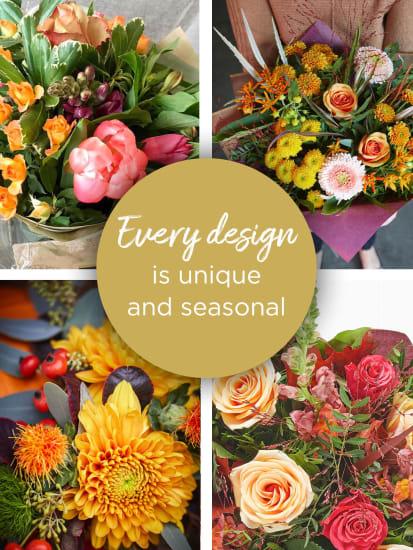 AUTUMN LILY FREE FLORIST CHOICE HAND-TIED