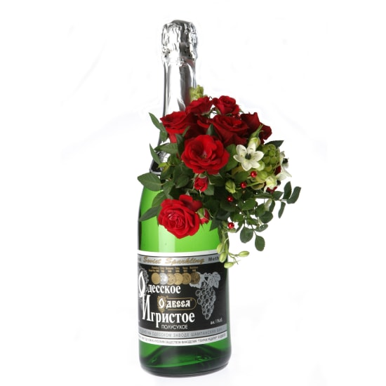 Arrangement on Sparkling Wine