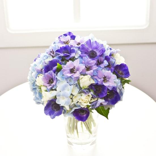 Blumenstrauss für ein neugeborenes Baby