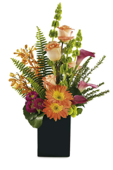 Strauss aus gemischten Blumen