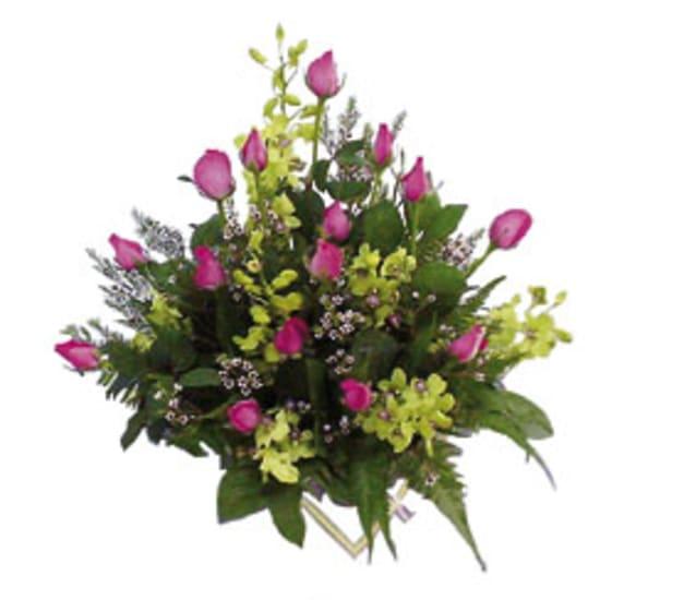 Composizione di fiori recisi