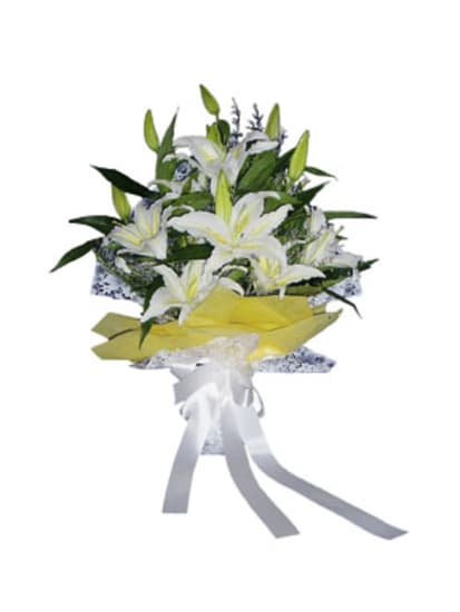 Strauss von Lilien (ohne Vase)