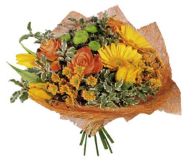 "Bouquet ""Orange Mood"""