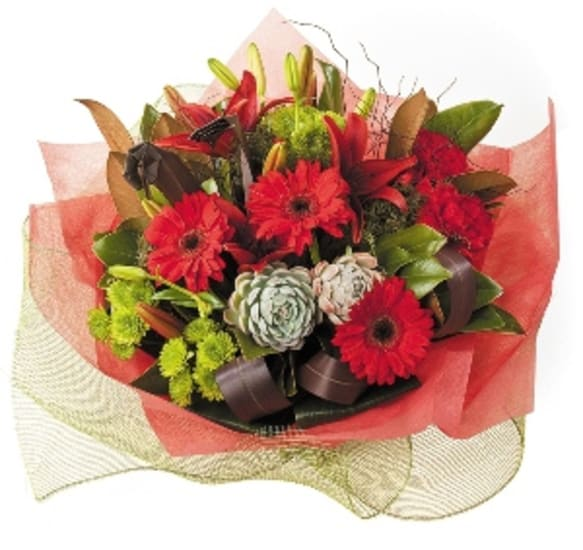 Winter Bouquet/Claret
