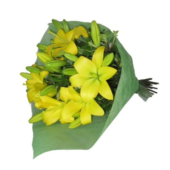 Bunch Of Lilies - Yellow