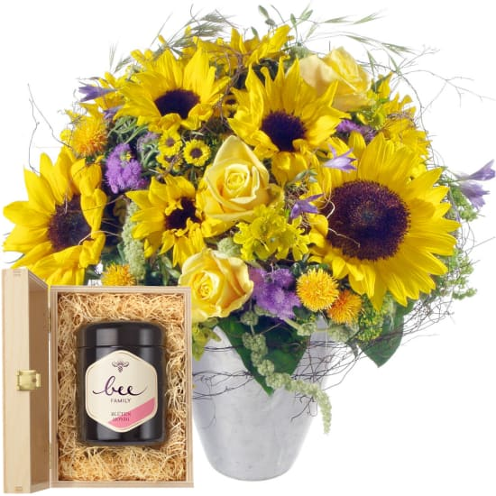 Let the Sunshine in, with Swiss blossom honey