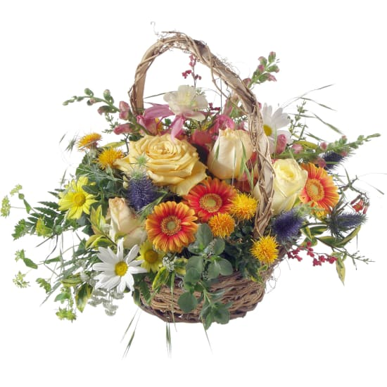 Natural Late Summer Basket