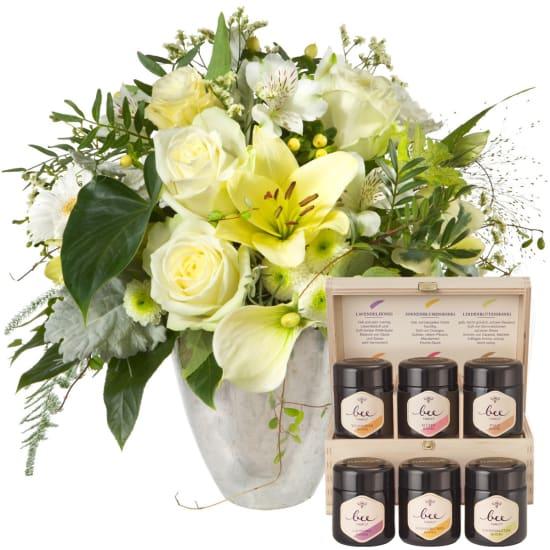 Noblesse oblige avec coffret cadeau de miel