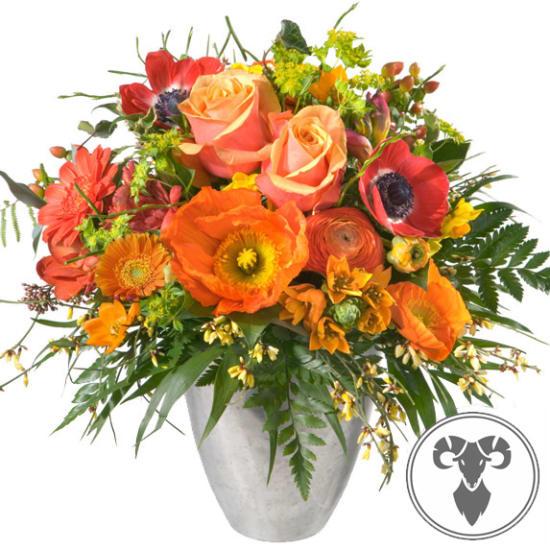 Un mazzo di fiori  Ariete (21.03. - 20.04.)