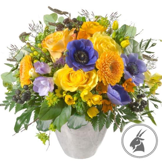 Bouquet Capricorne (22.12. - 20.01.)